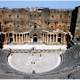 Античният театър в Босра, Сирия
