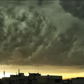 Небето над София в момента