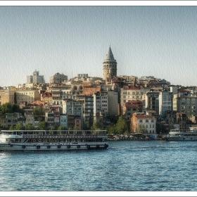 Картини от Истанбул - Галата