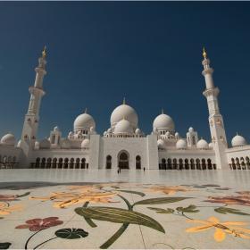 "Бялата джамия- ""Шейх Зайед""  Абу Даби"