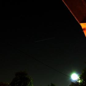 Международната космическа станция от моя прозорец