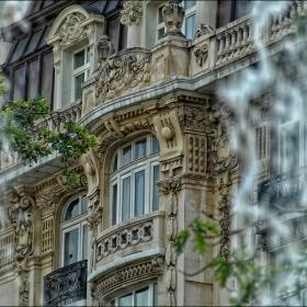 Детайл от сградата на ул
