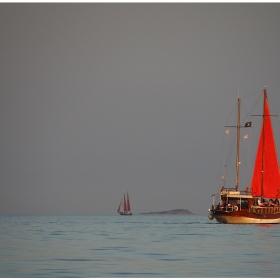 Кораб на хоризонта