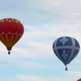 празник на балоните - Квебек, Канада