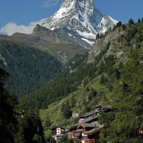 Matterhorn 4478 m.