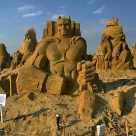 Пясъчни фигури (Морската градина- Бургас)
