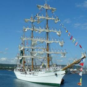 Ветроходен кораб B.E. CUAUHTEMOC - Мексико