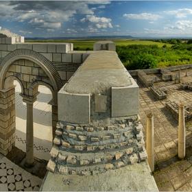 Плиска - голямата базилика...