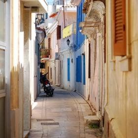 По улиците на Лефкада