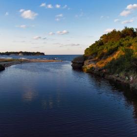 Устието на река Караагач!