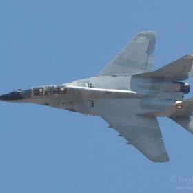BIAF 2011, български МиГ-29УБ