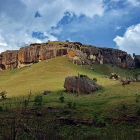 Из планините и скалите в Drakensberg (3)