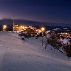 Зимна вечер в Смолево