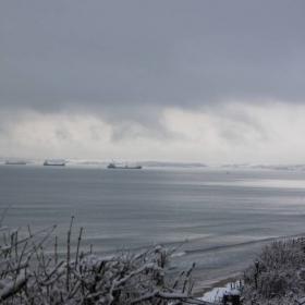 Замръзнало море.
