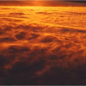 Снежно море - Черновръшки залез