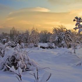 Зимен залез!