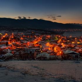 Зима в с. Дебращица