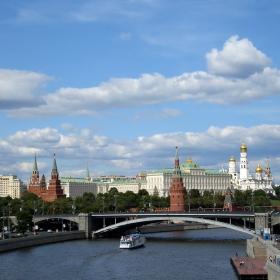 Кремъл откъм река Москва