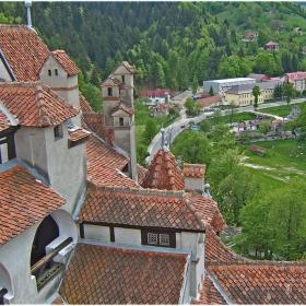 Поглед от замъка Бран!