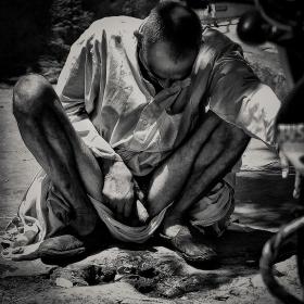 Сутрешен тоалет-пазара Джайпур