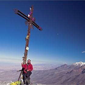 От volcan Misti  5825m.  ....  усмихнат!  Bolivia