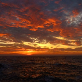 Октомври 2012, Варненското крайбрежие, изгрев