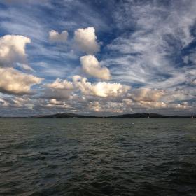 Море и облаци от Бургас