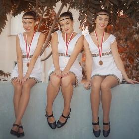 трите медалистки..:)