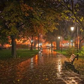 Дъждовно свечеряване
