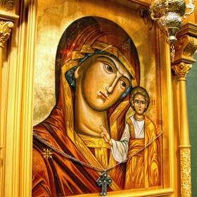 Богородица с младенеца!