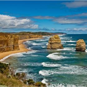 Near Port Campbell, Bass Strait, Tasman sea, Victoria, AUS