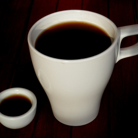 на кафе с батко :)