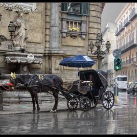Дъжд над Палермо
