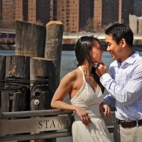 ...завършили романтично!
