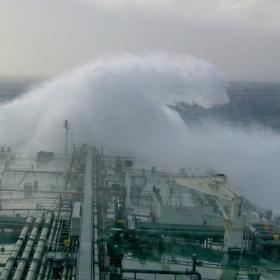 Rough sea. Бурно море.