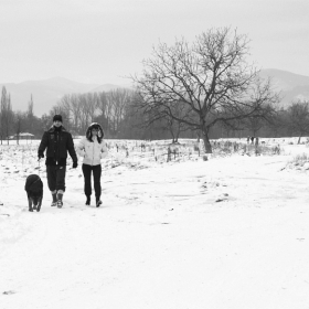 Зимна разходка!