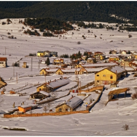зима в Равногор