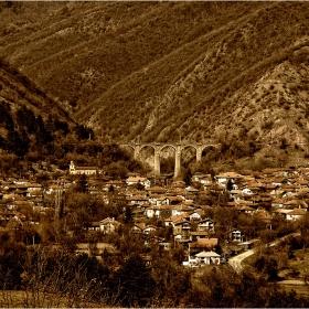 Мостът до село  Буново