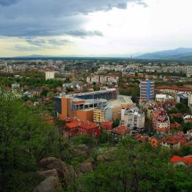 Дъждовен Пловдив