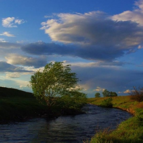 Край реката...