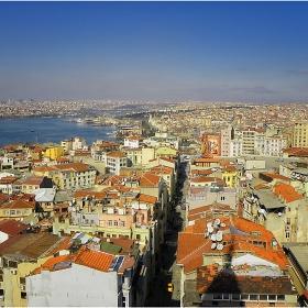 Истанбул - поглед от кулата Галата!
