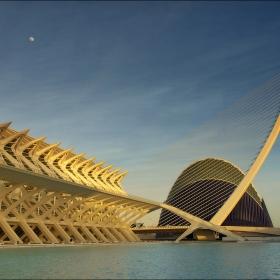 Детайли от комплекса на Сантиаго Калатрава, Валенсия