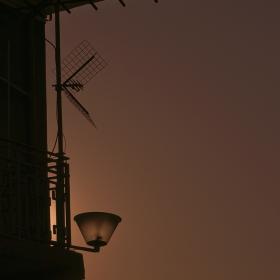 антени по залез