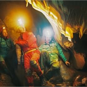 Да не запалите пещерата!