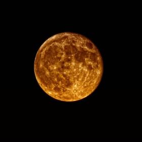 Луната от снощи!