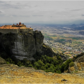 Манастира Св. Стефан и  Тесалийското поле!