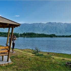 Езерото...