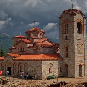 """Спомен од Македонија - църквата """"Св. Св. Климент и Пантелеймон"""" - 1!"""