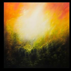 Andare oltre - olio su tela 100 x 100 cm