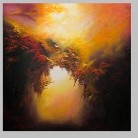 Desiderio - olio su tela , 100 x 100 cm